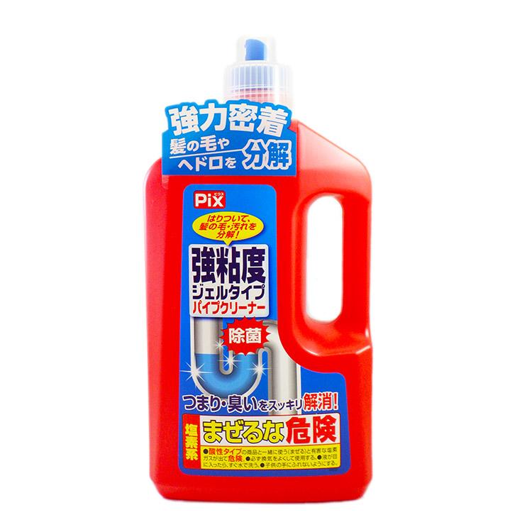 液体パイプクリーナー | 強粘度ジェルタイプ パイプクリーナー
